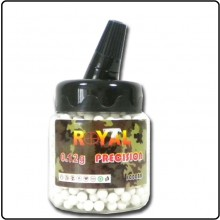 Biberon con 1000 Pallini mm 0.6  Peso 0.12G  ROYAL Precision Art.BB1000