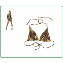 Costume da Bagno Militare Bikini Top Tropical Surprise Reggiseno Woodland Art.119505