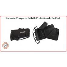 Astuccio Custodia Borsa Portacoltelli Porta Coltelli Professionale Arcos Chef's Knife Roll Cuochi Chef Pasticceri Art.ARCOS.