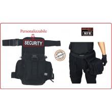 Marsupio Cosciale SECURITY con Porta cartucce Personalizzabile con Ricamo Art.30704A