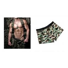 Boxer Uomo Militari  Woodland Elasticizati Art.11202020