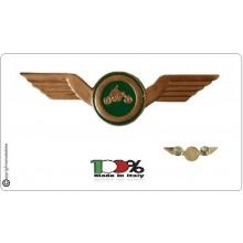 Brevetto Grande Moto Guida Veloce Fondo Verde Guardia Di Finanza e Guardie Giurate  Art.NSD-GV4