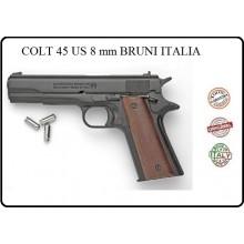 Pistola Salve Bruni Mod.96 8mm. Colt 45 Prodotto Italiano Art.RP031815