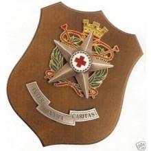 Crest Corpo Militare Croce Rossa Italiana CRI M. Prodotto Ufficiale Art.CRI3