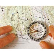 Bussola Cartografica Montagna Mappa Boy Scout Alpinismo Militare Soft Air Professionale Orienting Art. 34203