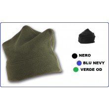 Berretto Bustina Pile 3 Punte Neutro  Verde Nero Blu Art.NSD-149