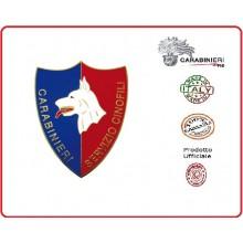 Pins Distintivo Carabinieri Servizio Cinofili Prodotto Ufficiale Italiano Art.C137P