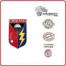 Pins Distintivo Carabinieri Tuscania Prodotto Ufficiale Italiano Art.C215P