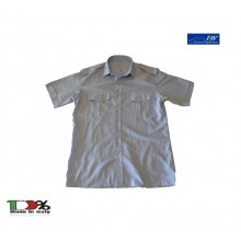 Camicia Grigia Militare Con Spalline Manica Corta Vigilanza Ambientale GPG IPS FAV Italia Art.FAV-CGV