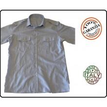 Camicia Manica Lunga Grigia Vigilanza Ambientale FAV Italia  Art.FAV-CG