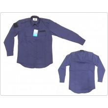 Camicia con Spalline porta Gradi Modello Polizia Americana U.S. Manica Lunga Art.NSD-CAM-US