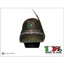 Cappello Alpini Congedo Congedante Prodotto Italiano Libera Vendita Art.CONGEDO