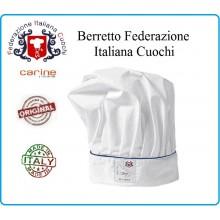 Cappello Cuoco FIC Federazione Italiana Cuochi Originali  Art.C-FIC