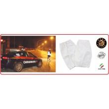 Manicotti Alta Visibilità Bianchi Carabinieri Polizia Vigilanza Vega Holster Italia Art.7AR701