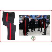 Pantaloni Divisa Estiva Carabinieri Banda Rossa FAV Italia Art.FAV-PCC