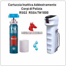 Cartuccia di Ricambio Inerte Addestramento per tuo TW 1000 RSG2 e RSG4 Originale Defend Sistem Art. RSG2/RSG4-I