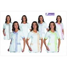 Casacca Camice Professionale Brasilia Vari Colori Isacco Personalizzabile con il Nome Art.005800