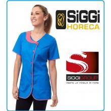 Casacca Manica Corta Donna Siggi Bluette + Fuxia Art.28CS1306/00