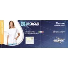 Casacca Donna Medicale Elasticizzata Easyfit Thelma Dr.Blue Siggi Group Italia Art.04CS1341/00
