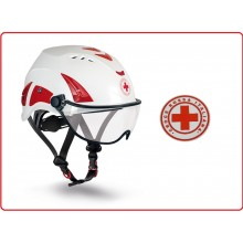 Adesivo da Casco Croce Rossa Italiana cm 5.00 Art.T-CRI-C