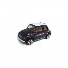 Modellino Burago diecast in scala 1: 43 Carabinieri FIAT 500 Prodotto Ufficiale Collezionismo Idea Regalo Art. CC.390623FIAT