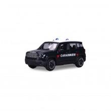 Modellino Burago diecast in scala 1: 43 Carabinieri JEEP RENEGADE Prodotto Ufficiale Collezionismo Idea Regalo Art. CC.390623JEEP