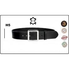 Cinturone Cintura in Cuoio Altezza 5 cm. con Fibbia ad un Ardiglione Vega Holster Italia  Art.1V60
