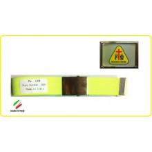 Cintura Canapa Giallo Fluò Misericordia Vetrificata Art.CIN-27