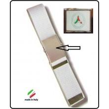 Cintura Canapa Biaca Protezione Civile Volontari Nazionale Vetrificata  Art.CIN-9
