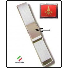 Cintura Canapa Bianca Vigili Del Fuoco Vetrificata Art.CIN-6