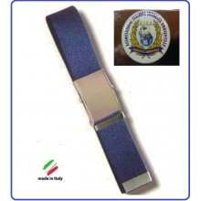 Cintura Canapa Blu A.I.S.A. AISA Associazione Vetrificato Art.CIN-59