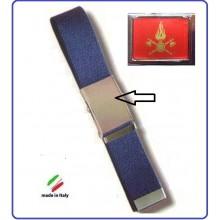 Cintura Canapa Blu Vigili Del Fuoco Vetrificata Art.CIN-5