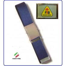 Cintura Canapa Blu  Misericordia Vetrificata Art.CIN-30