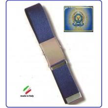Cintura Canapa Blu A.E.O.P. Operatori Polizia Ass.  Vetrificato Art.CIN-60