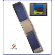 Cintura Canapa Blu Regione Veneto Polizia Locale  Vetrificato Art.CIN-55