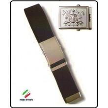 Cintura Canapa Nera Esercito Italiano Rilievo  Art.13120502