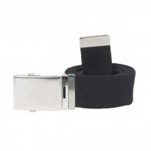 Cintura Canapa Nera  Fibbia a Scatola cm 120  Art.SBB-N-120