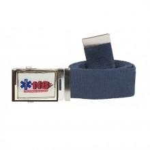 Cintura Canapa Blu Soccorso Sanitario 118 Soccorritori  Vetrificato cm 120 Art. 118-SOC-2