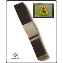 Cintura Canapa Nera  Misericordia Vetrificata Art.CIN-29