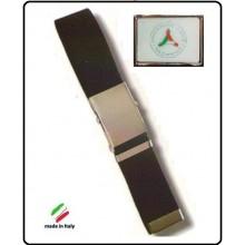 Cintura Canapa Nera Protezione Civile Vetrificata  Art.CIN-34