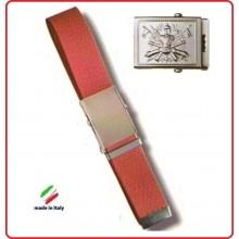 Cintura Canapa Rossa Esercito Italiano Rilievo  Art.CIN-2