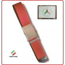 Cintura Canapa Rossa Protezione Civile Vetrificata  Art.CIN-33