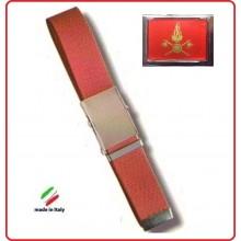 Cintura Canapa Rossa Vigili Del Fuoco Vetrificato Art.CIN-64