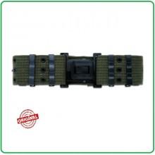 Cinturone Sgancio Rapido Militare  Verde OD Cordura Rinforzata H5 Militare Esercito Venatoria Art.241235