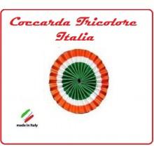 Coccardina Tricolore Italiana cm 6 Art.COC-1