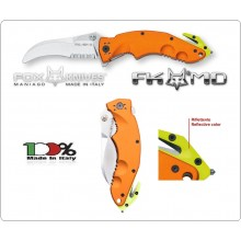 Coltello Serramanico Emergenza Soccorso 118 FOX Sierra Rescue Maniago Italia FX-151 OR  Art. FX-151OR