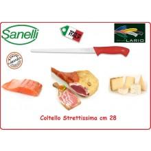 Coltello Professionale Strettissima cm 28 Sanelli Linia Lario Italia Art.304728R