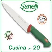 Linea Premana Professional Kinife Coltello Cucina cm 20 Sanelli Italia Art.312620