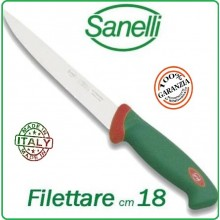 Linea Premana Professional Knife Coltello Filettare Pesce cm 18 Sanelli Italia Art.107618