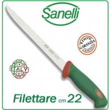 Linea Premana Professional Knife Coltello Filettare Pesce cm 22 Sanelli Italia Art.107622